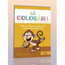 Carte de colorat: Animale salbatice