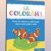 Carte de colorat: Animale marine