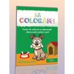 Carte de colorat: Animale domestice