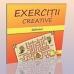 """Carti """"Exercitii creative"""" labirint"""