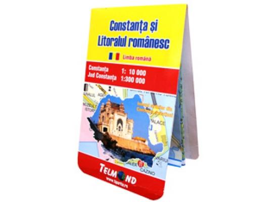 Harta Pliata Rutiera Constanta Si Litoralul Romanesc